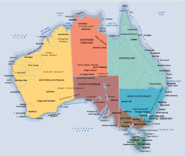 Australia Oil And Gas Overview