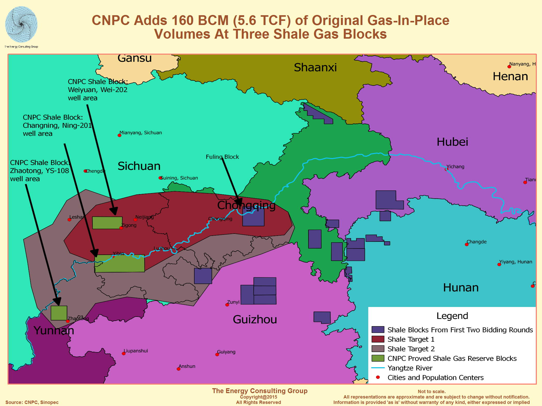 The Growth Of Shale Gas In China - Shale gas map usa