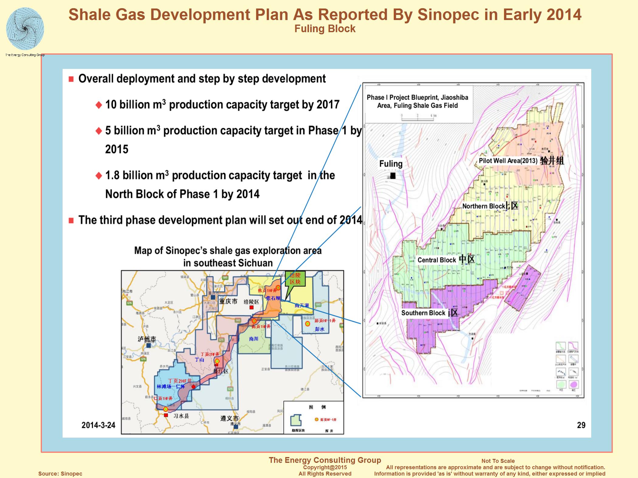 Китай объявил о крупных запасах сланцевого газа