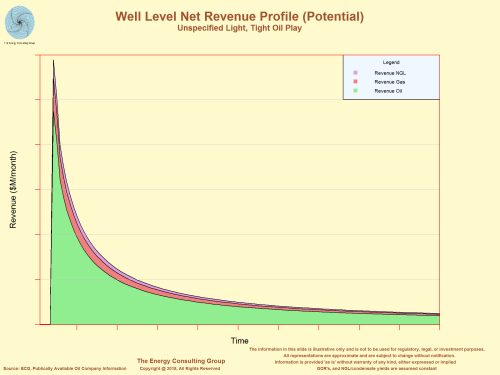 Potential Well Level Net Revenue Profile
