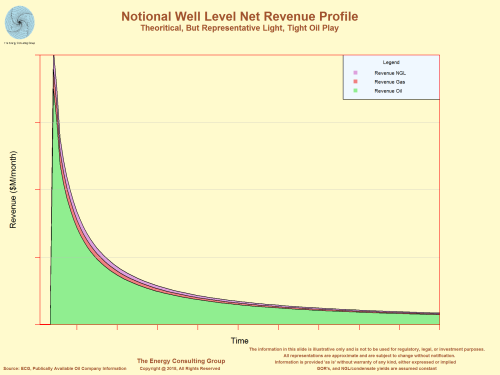 Notional Well Level Net Revenue Profile