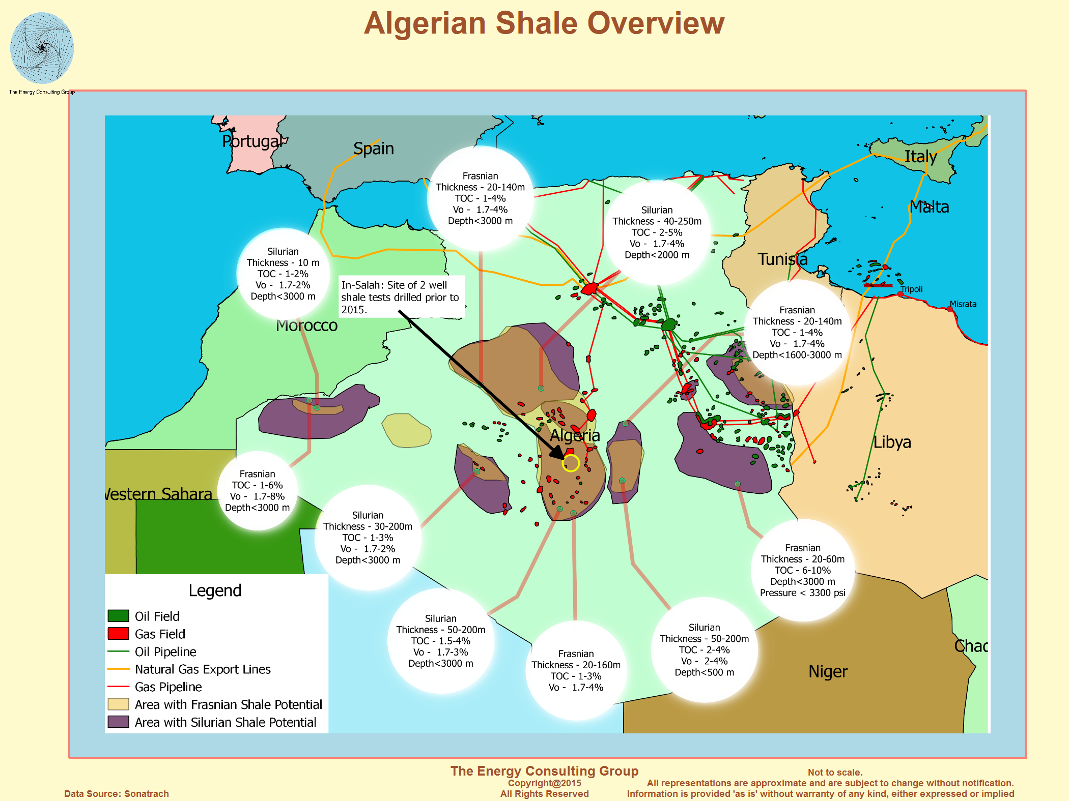 The Upstream Oil and Gas Industry In Algeria