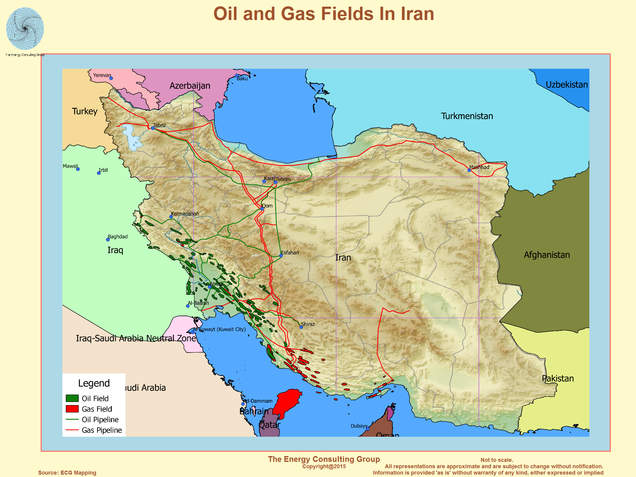 The Upstream Oil and Gas Industry In Iran