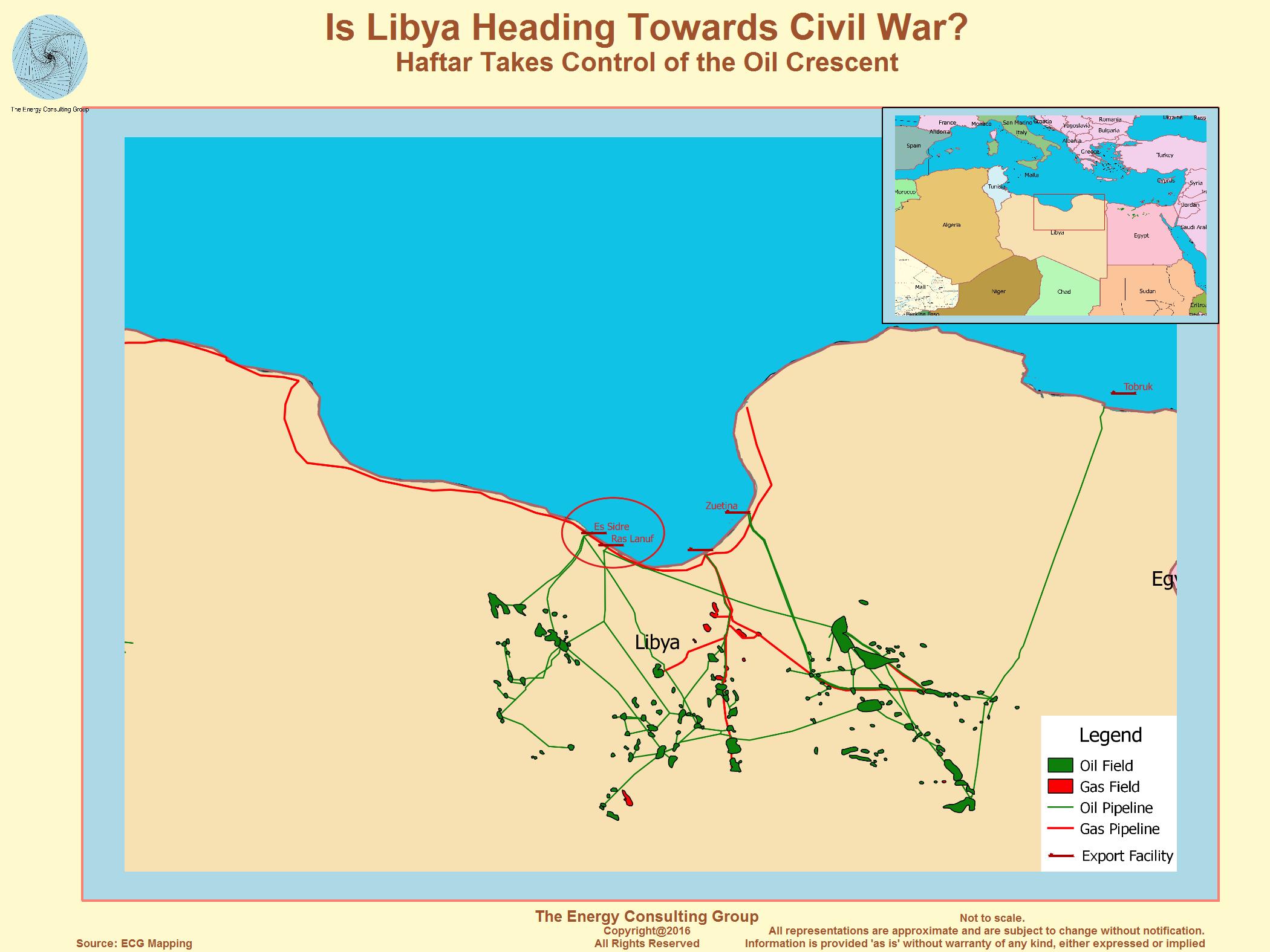Libya To Italy Map.Opec Member Libya
