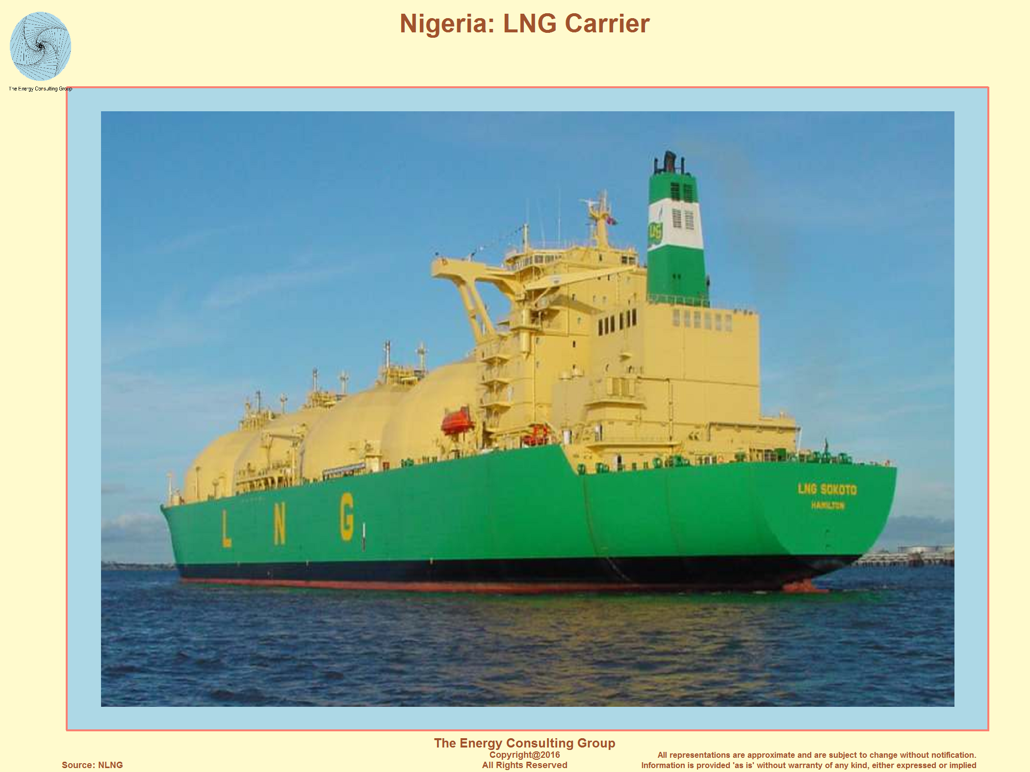 LNG Carrier, Nigeria