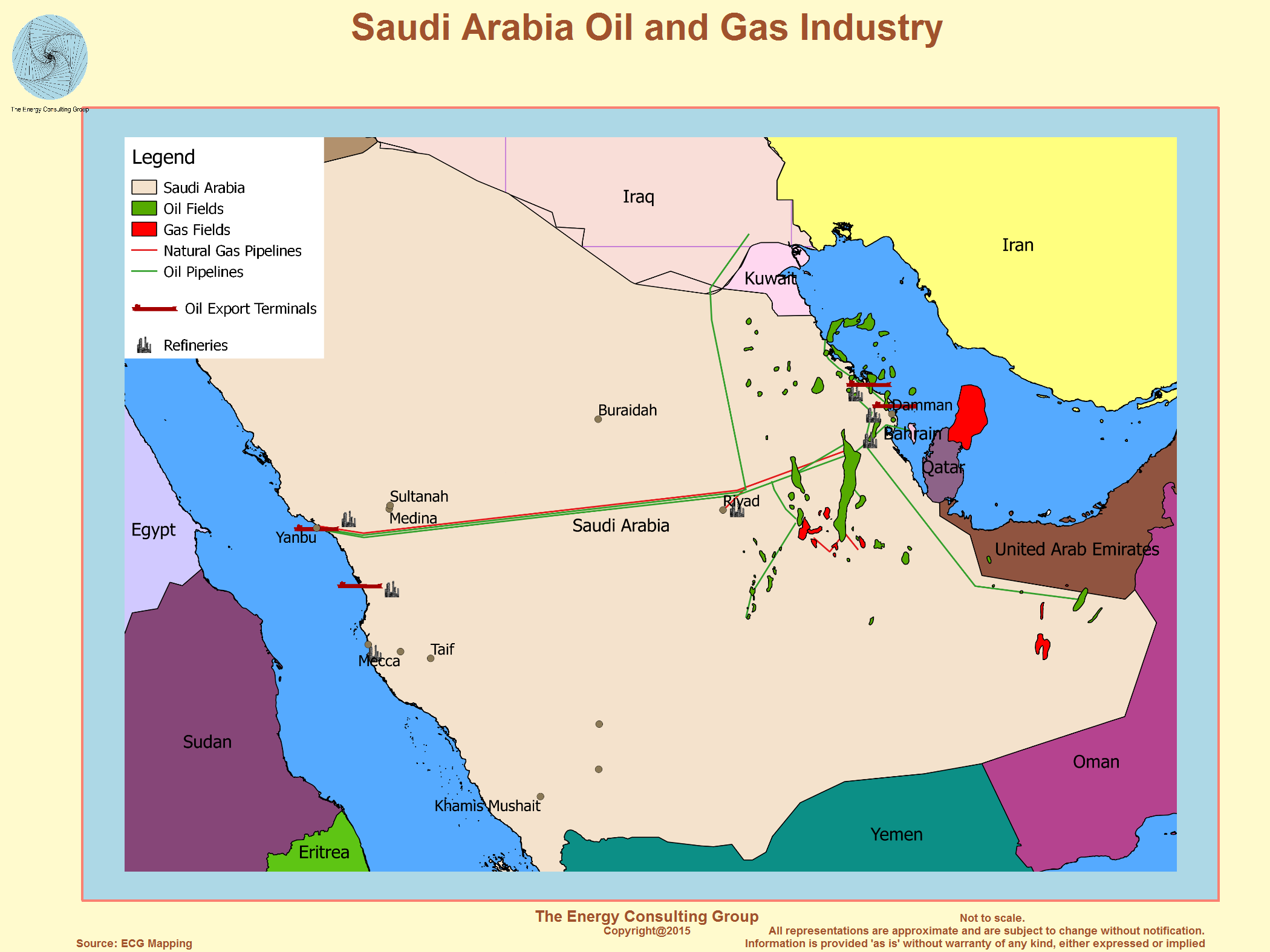 Saudi Arabia Natural Resources Oil