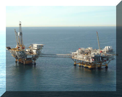 Ellen Ely II Image: Offshore Oil and Gas Production Facility:  Gulf of Mexico