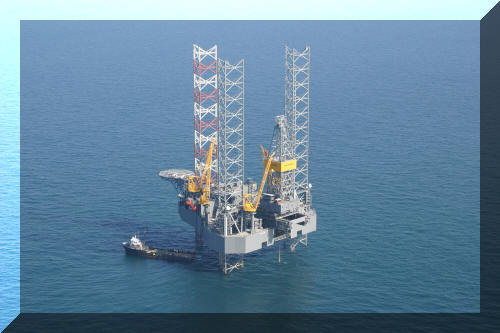 Image: Jack-up:  Drilling on the Shelf in the Gulf of Mexico