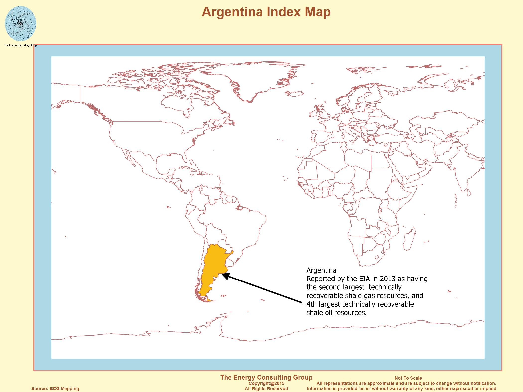 The Upstream Oil And Gas Industry In Argentina - Us shale plays map eia