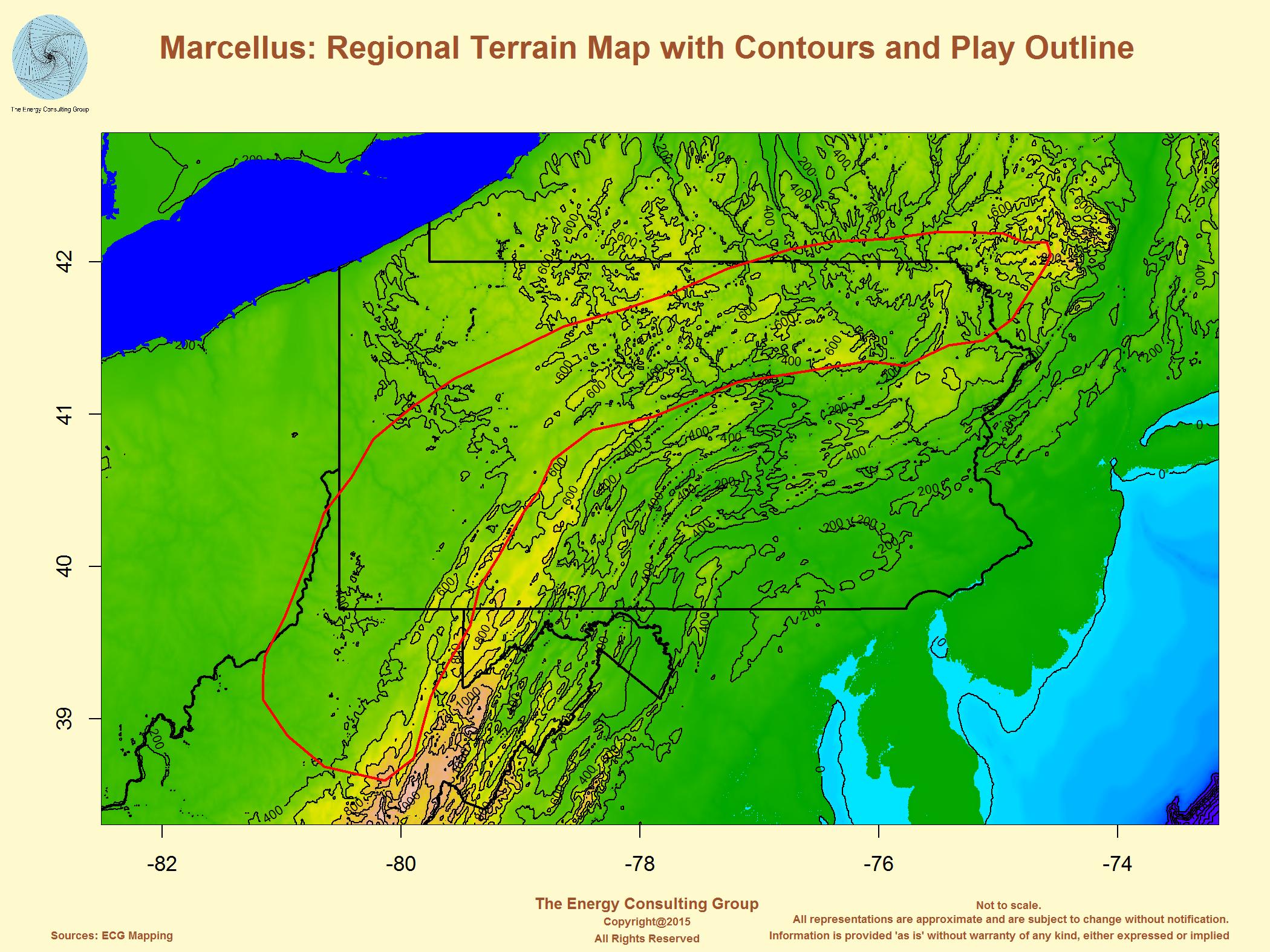 MarcellusUtica - Shale gas map usa