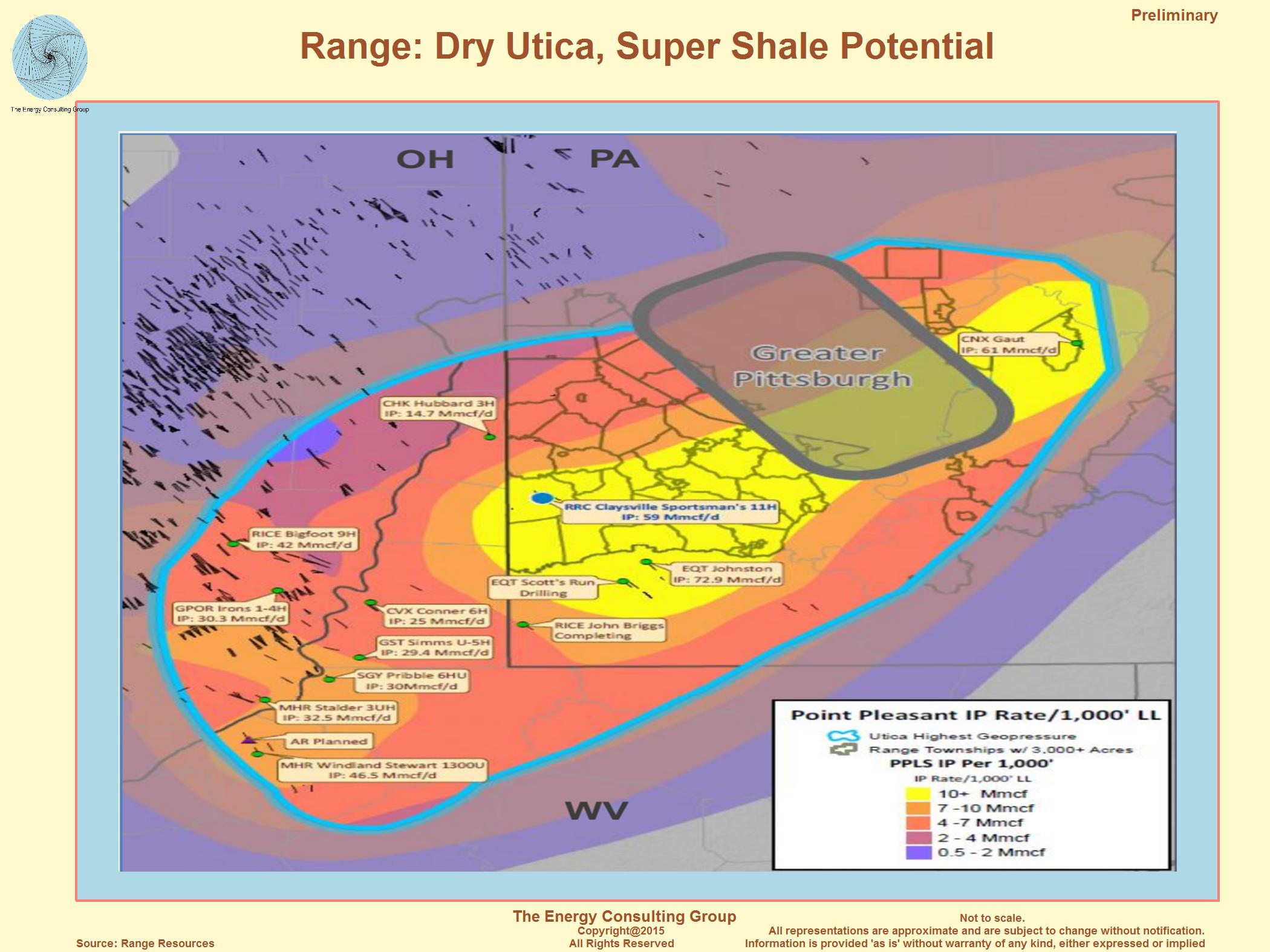 Utica Super Shale Play: Deep, dry Utica